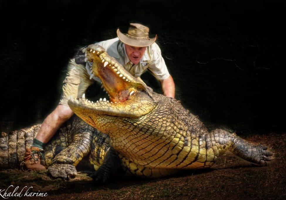 Crocodile Creek Sean and big croc